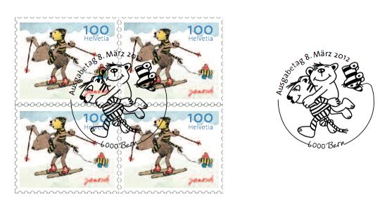 Janosch Briefmarke 58cent